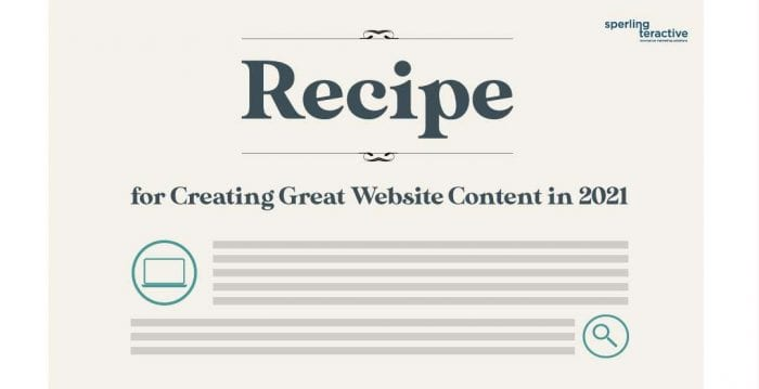 Recipe for Great Content