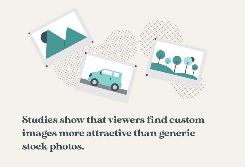 why choose custom photos